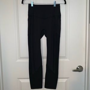 """Lululemon All The Right Places Crop II 23"""""""